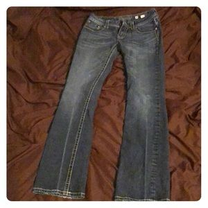 Miss me jeans size 30 boot cut no holes or stains